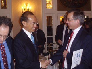 Minister with Ambassador Scot Marciel