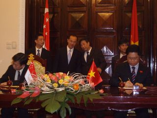 Witnessing of MOU signing
