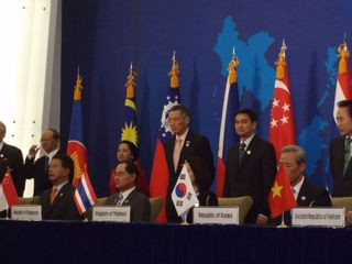 Signing of the Investment Agreemet of the ASEAN-ROK FTA
