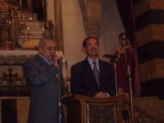 Minister making remarks