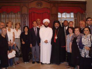 Group Photo at the Armenian Church