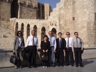 Group photo at the Citadel