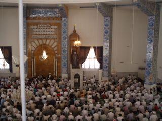Sheikh Ahmad Delivering his Sermon