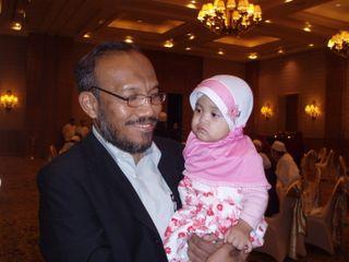 Dr Al-Balkri with Sophie