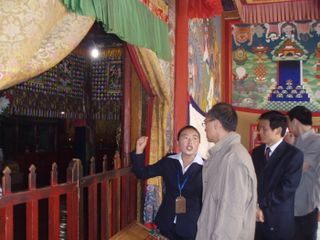 Minister at the Defenders of Buddhism Hall 3